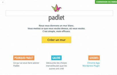 Padlet : travailler ensemble sur un projet textuel