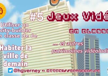 [Vidéo tuto'] Ep#5 : Habiter la ville de demain  (niveau 6e)