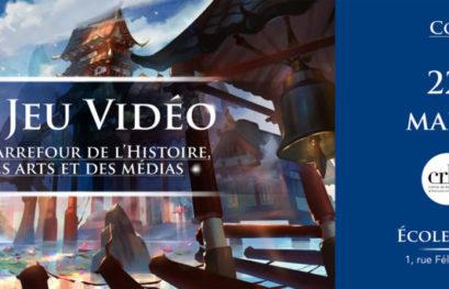 """Participation au colloque : """"Le jeu vidéo au carrefour de l'histoire, des arts et des médias"""""""